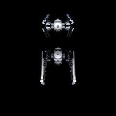 TIE INTERCEPTOR. SCANOGRAPHY (Darth Magnetus) Tags: starwars lego tie interceptor scanography tieinterceptor 9676 darthmagnetus