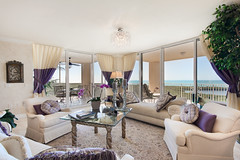 living room (Kenneth B) Tags: photoshop canon mexico real high estate gulf pass sigma clam livingroom cap naples rise luxury hdr condominium ferrat photmatix