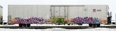 Maple/Stalk (quiet-silence) Tags: railroad art train graffiti maple railcar unionpacific graff stalk freight reefer tci armn fr8 armn170027