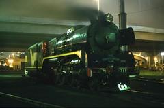 R711 Light up (Aussie foamer) Tags: train railway victoria locomotive preserved vr steamlocomotive rclass wcr victorianrailways dynon r711 westcoastrailway