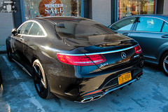 2015 Mercedes-Benz S63 AMG Coupe C217 (Rivitography) Tags: newyork black car sedan canon rebel automobile connecticut greenwich fast adobe german mercedesbenz t3 expensive luxury coupe amg horsepower lightroom 2door 2015 s63 rivitography fjr8904