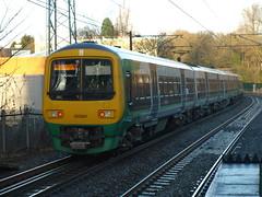 London Midland Class 323's 323210 and 323241 depart from University (Oz_97) Tags: university universitystation