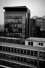Day 43 - View From The Ninth Floor (leftyguk) Tags: blackandwhite buildings birmingham birminghamuk project365 canon400d canonefs24mmstm