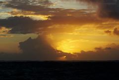 The Fireball (mariola aga - ON/OFF) Tags: ocean morning light sky sun sunlight clouds sunrise glow dominicanrepublic sunrays atlanticocean fireball puntacana bavaro thegalaxy