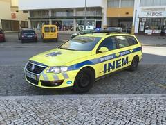 Ambulance Service Vehicle - INEM Portugal - VW Passatt (firehouse.ie) Tags: passat volkswagen vw response rapid notarzt krankenwagen ambilances ambulanza ambulanz ambulancia paramedic rrv vehicule car emergency 999 112 algarve portugal portimao vehicle rescue ambulance inem