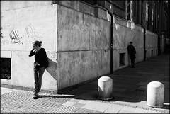 Torino 0398 (malko59) Tags: street urban blackandwhite italy torino turin biancoenero