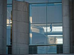Berlin Mitte - Vom Hauptbahnhof zum Reichstag (micharl_be) Tags: berlin abend kanzleramt regierungsviertel lumixvariog14140