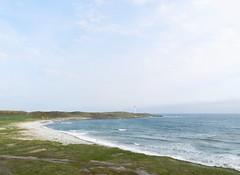 NIgg Bay, Torry, Aberdeen, May 2016 (allanmaciver) Tags: sea lighthouse robert bay coast wind walk north stevenson aberdeen strong easy breeze viewpoint torry restless 1833 nigg admire choppy girdleness allanmaciver