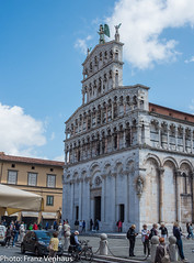 160523_Lucca_Pisa-751843.jpg (FranzVenhaus) Tags: trees italy streets green castles towers churches restaurants lucca it tuscany walls toscana oldtowns