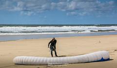 IMG_9233 (Laurent Merle) Tags: beach fly outdoor dune cte vol paragliding soaring ozone plage parapente atlantique ocan glisse littlecloud spiruline