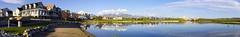 Lake Village Homes in Daybreak Utah Panorama (Photo Dean) Tags: bridge panorama usa landscape utah ut southjordan housefronts 2016 lakevillage stitchedpanorama saltlakecounty oquirrhlake daybreakutah postmodernstyle
