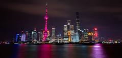 Shanghai, China (Darcey Prout) Tags: china night river nikon shanghai pudong bund d800 thebund 1424