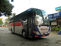 Davao Metro Shuttle 383 (Monkey D. Luffy 2) Tags: road city bus public photography photo coach nikon philippines transport vehicles transportation coolpix vehicle enthusiast society davao coaches philippine enthusiasts ecoland yutong yuchai philbes zk6107ha