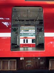 Keikyu Fine-tec Kurihama Factory  (: : Ys [waiz] : :) Tags: door red japan train   kanagawa ricoh railfan yokosuka keikyu    grd   grd4