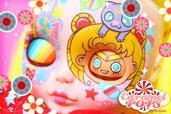 Sailormoon Magic ( Caramelaw ) Tags: moon cute japan rainbow whimsy doll dolls candy ooak kawaii pullip blythe colourful custom sailormoon whimsical caramelpops caramelaw