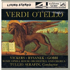 Verdi Otello - Serafin Vickers Rysanek Gobbi RCA R2R (sacqueboutier) Tags: vintage opera open shakespeare tape tragedy classical classicalmusic tapes othello reeltoreel reel audiophile tapecollection openreel tapecollector