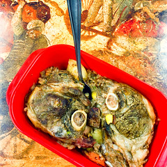 Slow cooker lamb forequarter chops (garydlum) Tags: rice au australia potato lamb quinoa canberra phillip australiancapitalterritory