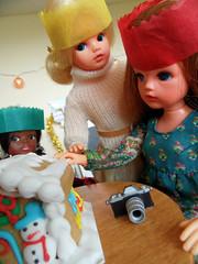 Sindy's Christmas Day - 21 (misssindy) Tags: christmas doll dolls marx 16 gayle diorama pedigree sindy