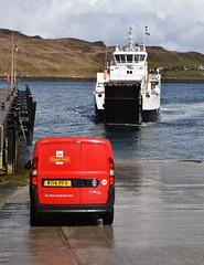 Waiting for the Post (Russardo) Tags: skye island scotland mac cal isle calmac hebrides caledonian macbrayne