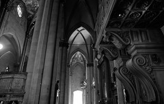 """ Dynamic range "" (pigianca) Tags: bw italy monochrome architecture blackwhite cathedral 28mm arezzo leicaq"