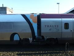 O, Thalys (mkorsakov) Tags: rio train silver graffiti zug bahnhof oldschool part hbf dortmund silber wholecar thalys teilweise