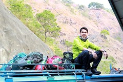 Going somewhere. On top of a Mountain Jeepney. (markgososo) Tags: healthy filipino homecooking pinoy beefsteak foodrevolution foodtrailph foodtrailcreations