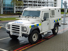 BV58 WUD (Emergency_Vehicles) Tags: west airport birmingham police rover international land midlands armoured bv58wud