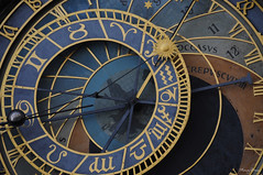 The Prague astronomical clock (_MissMoneyPenny_) Tags: life city travel holiday clock europa europe prague praga orologio viaggio vacanza vita citt astronomical astronomico