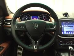 Hot Wheels (Urban_Hippie) Tags: cars foreign maserati steeringwheel