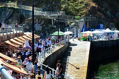 Mercazoco Julio Cudillero panorámica market procesión fiestas del Carmen