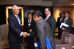Kunjungan hormat oleh Vice president Indonesia Mr Jusuf Kalla