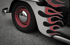 Edelbrock Car Show Torrance California (Partial Color) May 2016 12 (JCD Images) Tags: california usa cars performance chrome engines autos rims classiccars carshow hotrods torrance edelbrock 2016 custompaint automotiveracing