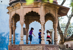 Play time | Vrindavan,India (vjisin) Tags: travel people india architecture composition children 50mm kid nikon asia child ngc mathura nikond3200 indianchild niftyfifty chennaiweekendclickers nikonofficial cwc497