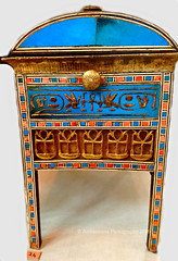 Wooden Jewel box of Amenhotep III and Tiy (Amberinsea Photography) Tags: box egypt jewelbox tiy woodenbox cairomuseum amenhotepiii ancentegypt amberinseaphotography