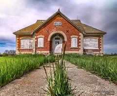 Weed-on-Crack School (Pat Kavanagh) Tags: school canada saskatchewan prairies netherhill netherhillschool