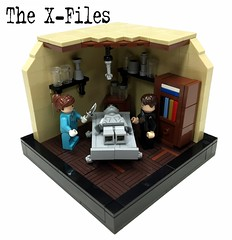 """The X-Files """"Real or not?"""" - Part2 (markus19840420) Tags: lego contest vignette moc foxmulder thexfiles danascully aktex imperiumdersteine serienjunky"""
