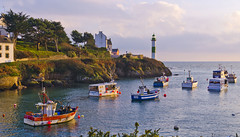 Finistere Port de Doelan (Lilly Bzh) Tags: mer france port de brittany europe bretagne cte breizh soire bateau phare bzh finistre pche dolan