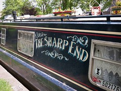 The Sharp End (Dahrth) Tags: london houseboat londres pniche littlevenice microfourthirds panasoniclumixgf1 lumix20mm 20mmpancake gf120 lumixmicroquatretiers lumix43