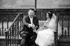 Jason and Sarah 8 (T_J_G) Tags: uk flowers wedding portrait white man wales groom bride nikon dress sunny suit d750 bridal