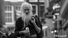A special man on the Zeedijk Amsterdam (Pieter van de Ruit) Tags: street man holland netherlands amsterdam streetphotography
