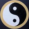 Yin and Yang, Regent's Canal (duncan) Tags: regentscanal squaredcircle squircle yinyang littlevenice yinandyang grandunioncanal taijitu