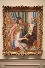 """Jeunes Filles au Piano"" Pierre-Auguste Renoir 1892 (phil.gallerand) Tags: themet twoyounggirlsatthepiano"