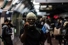 Una vida de msica con Jahir Soares (Ballatonic) Tags: street portrait music argentina brasil canon subway de calle buenosaires drum retrato subte drumer baires bsas soares jahir jahirsoares