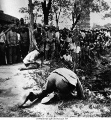 HU006548 (ngao5) Tags: china people japan soldier asia many military victim group violence males adults punishment prisoner execution prisonerofwar militarypersonnel secondsinojapanesewar19371945 japanesearmedforces