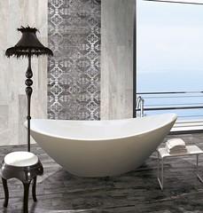 Infinity by Ceramiche Brennero (ceramichebrennero) Tags: ceramiche brennero stoneware gres porcellanato design interior bathroom ceramica piastrelle