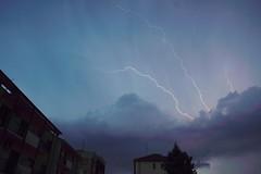 God Save the EU () Tags: sky weather cielo lightning tempo lampo lampi fulmine fulmini moteo