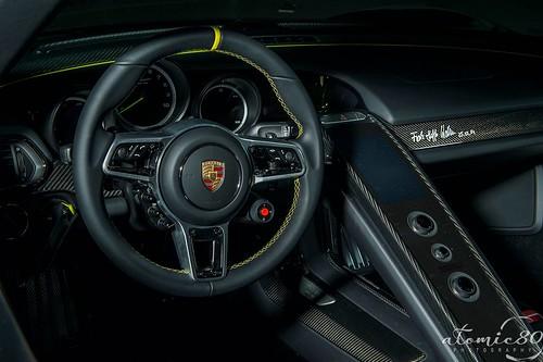 Porsche 918 Spyder Weissach Edition