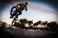 BMX (markdescande) Tags: park street bike bicycle wheel sport speed southafrica bicycling jump bmx freestyle ride exercise outdoor air extreme young funday skatepark cycle biking biker midair trick rider tabletop easterncape stunt portelizabeth zaf