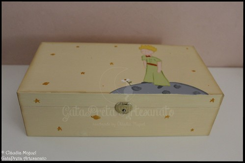 "Caixa de bijuterias ""Petit Prince"""
