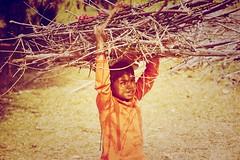 Hardworking Child